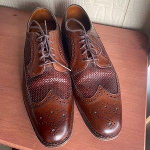 Allen Edmonds Leiden Mens Walnut Dress Shoes 10 B